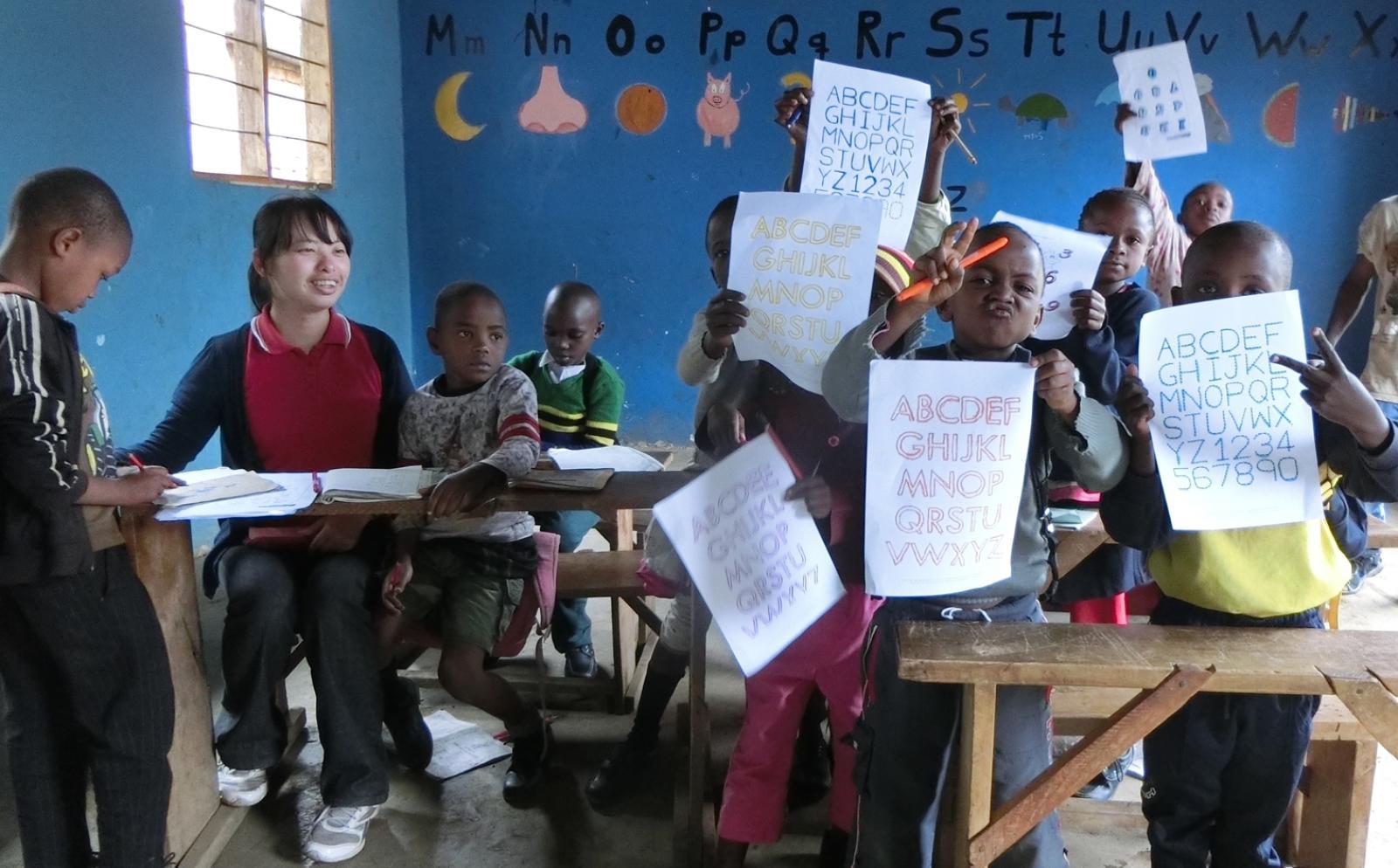 西アフリカのガーナの子供たちに教育を届ける日本人ボランティア